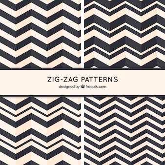 Zig-zag patterns