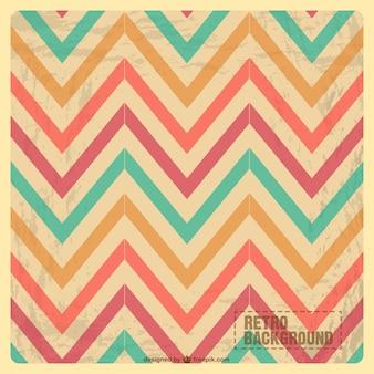 Zig zag vintage pattern