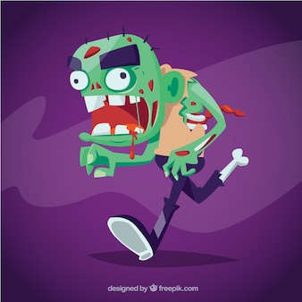 Zombie monster
