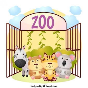 Zoo background