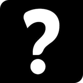 Abfrage Symbol Frage