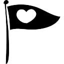 Banner mit Herz