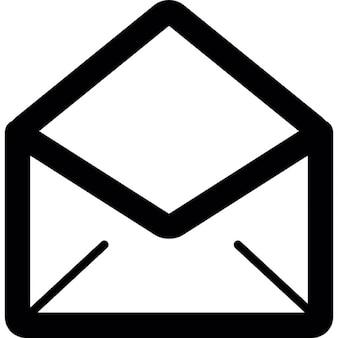 Brief geöffnet