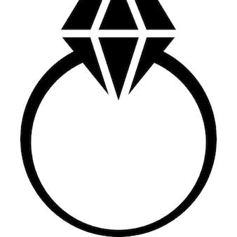 Diamantring gezeichnet  WC Mann Frauen | Download der kostenlosen Icons