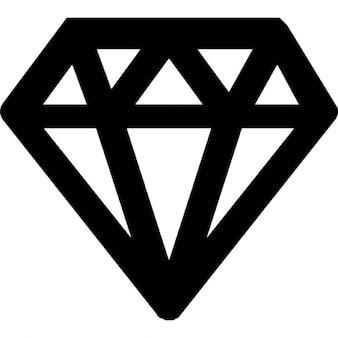 Diamant umriss download der kostenlosen icons for Minimal art zusammenfassung