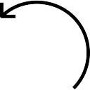 Die Kurve Pfeil