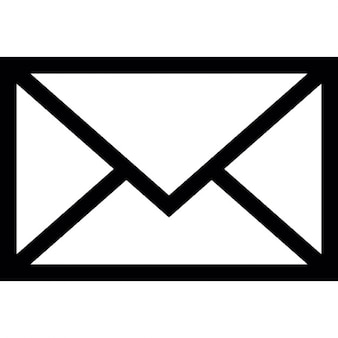 E-Mail-Umschlag, ios 7-Schnittstelle Symbol