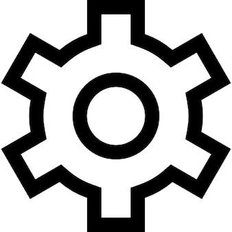 Getriebe Umriss