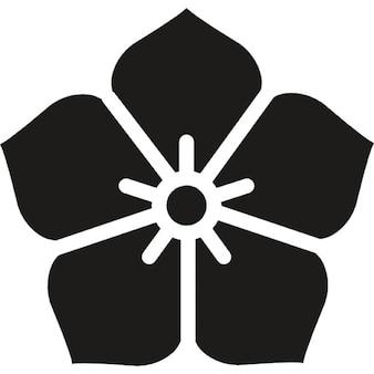 Japanische Blume