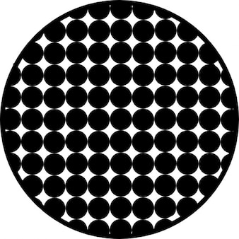 Kreis mit Punktmuster