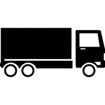 Container-LKW clip art | Download der kostenlosen Vektor