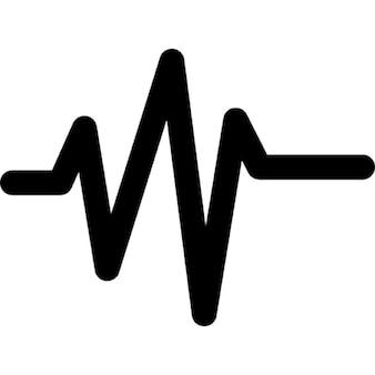 Musik-Sound-Line-Welle
