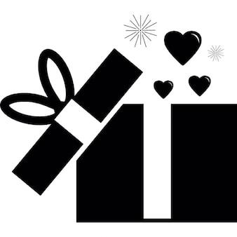 Öffnen Geschenkbox