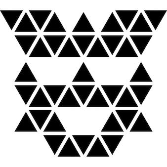 Polygonale Transformator Gesicht