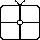 Sitzauflage quadratisch