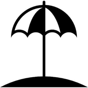 Sonnenschirm für den Schutz vor der Sonne