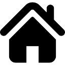 Startseite Icon Silhouette