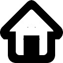 Startseite Web-Taste Schnittstelle Symbol
