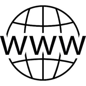 World Wide Web auf die Netz
