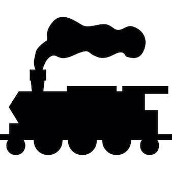Zug von Vintage-Stil Wander