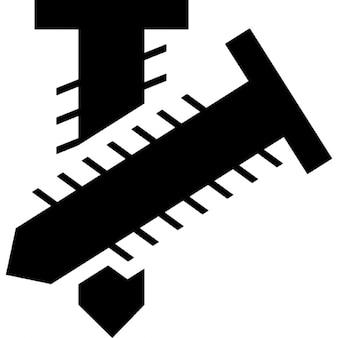 Zwei Schraubwerkzeuge