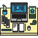 Lente di ingrandimento scaricare icone gratis for Arredatore d interni corsi