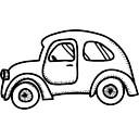 Auto arrotondato vecchio modello