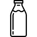 Bottiglia di latte
