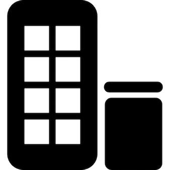 Piccolo edificio foto e vettori gratis for Planimetrie della cabina di log gratuito
