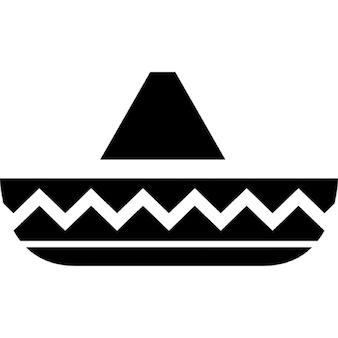 Cappello del cavaliere tipico del Messico