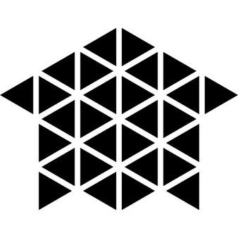 Piccoli triangoli foto e vettori gratis for Piccoli piani di costruzione casa