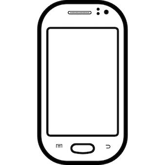 Cellulare modello popolare di Samsung Galaxy fama