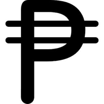 Cuba simbolo di valuta peso
