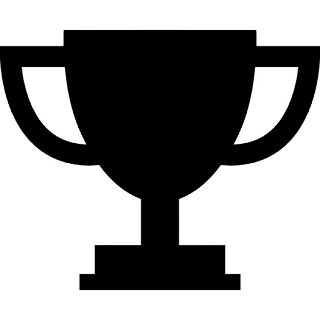 Cup trophy silhouette