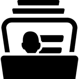 Database di biglietti da visita