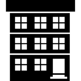 Tre edifici scaricare icone gratis for Piani di studio a casa