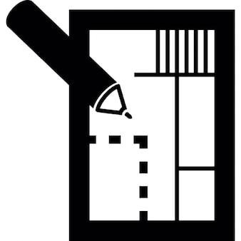 Edifici della citt silhouette scaricare icone gratis for Piani casa africani gratis
