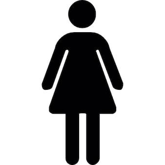 Donna toilette