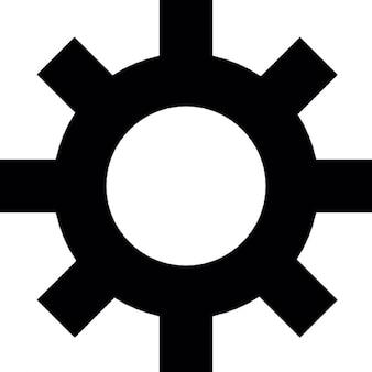 Impostazioni, simbolo ingranaggio