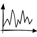Linea schizzo grafico