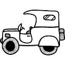 Modello di auto d'epoca