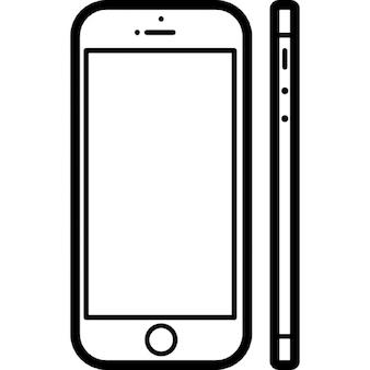 Modello di telefono cellulare popolare 5s apple iphone