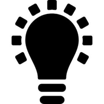 Nero simbolo lampadina 809 1 da 2 anni