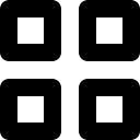 Quattro piazze forme delineate lordi scaricare icone gratis for Quattro piani di casa quadrati