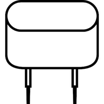 Quarzo, simbolo interfaccia ios 7