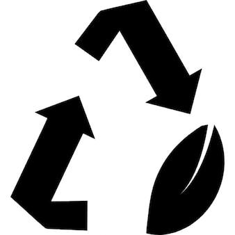 Riciclare simbolo riutilizzazione