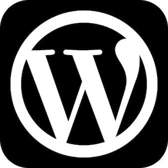 Wordpress logo foto e vettori gratis for Logo sito internet
