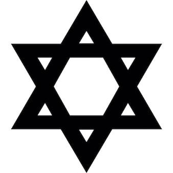 Stella di David ebraica