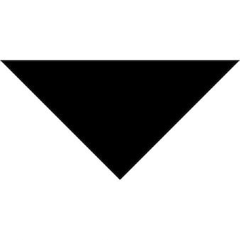 Arrow punt naar beneden