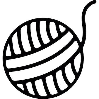 Bal van garen